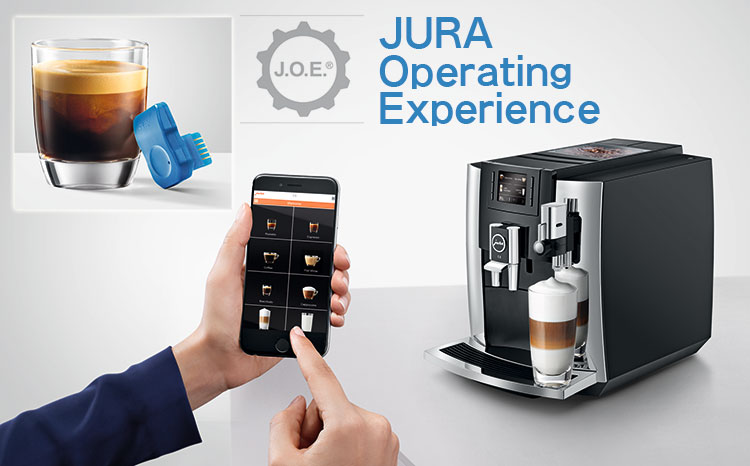 JURA(ユーラ) 全自動コーヒーマシン E8