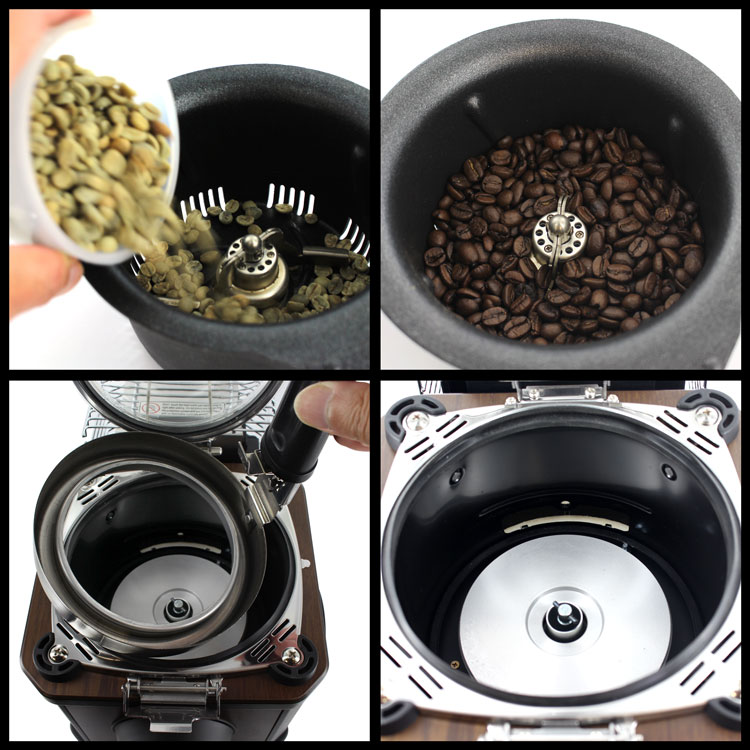 オッティモ コーヒービーンロースター J-150CRの簡単な焙煎方法