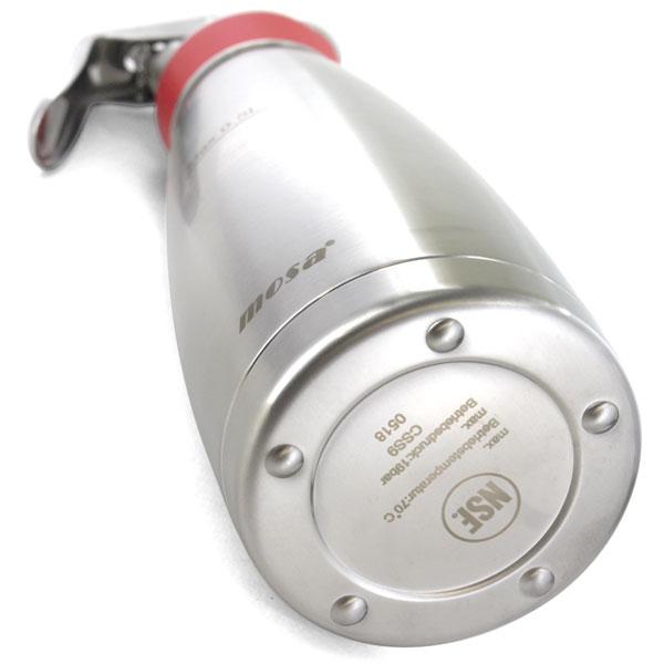 MOSA ナイトロ コーヒーメーカー サーモ 0.5L 赤 CSS9-05 ステンレス真空断熱ボトル