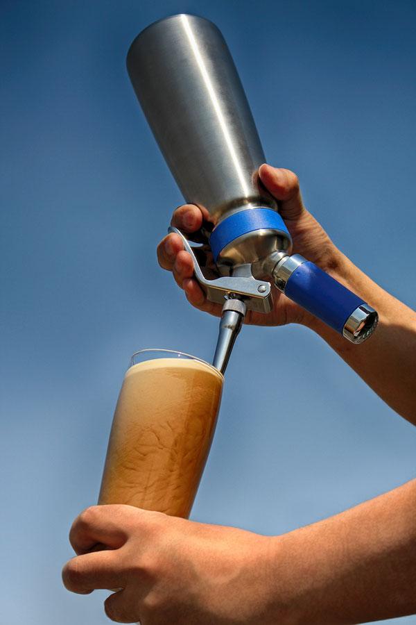 MOSA ナイトロ コーヒーメーカー 0.5L 青 CSS2-05 ステンレスボトル