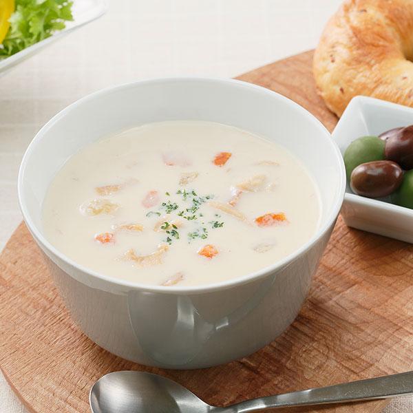 朝のスープシリーズ・クラムチャウダー
