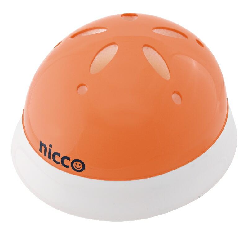 KH002OR オレンジ 子供用自転車ヘルメット nicco(ニコ)シリーズ クミカ工業 日本製