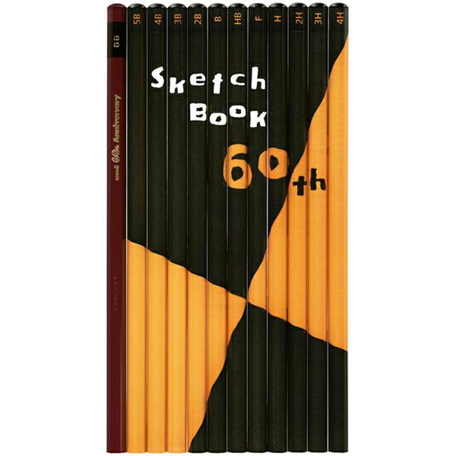 コミック画材 マルマン 60th 図案×uni鉛筆 コラボレーション鉛筆セット