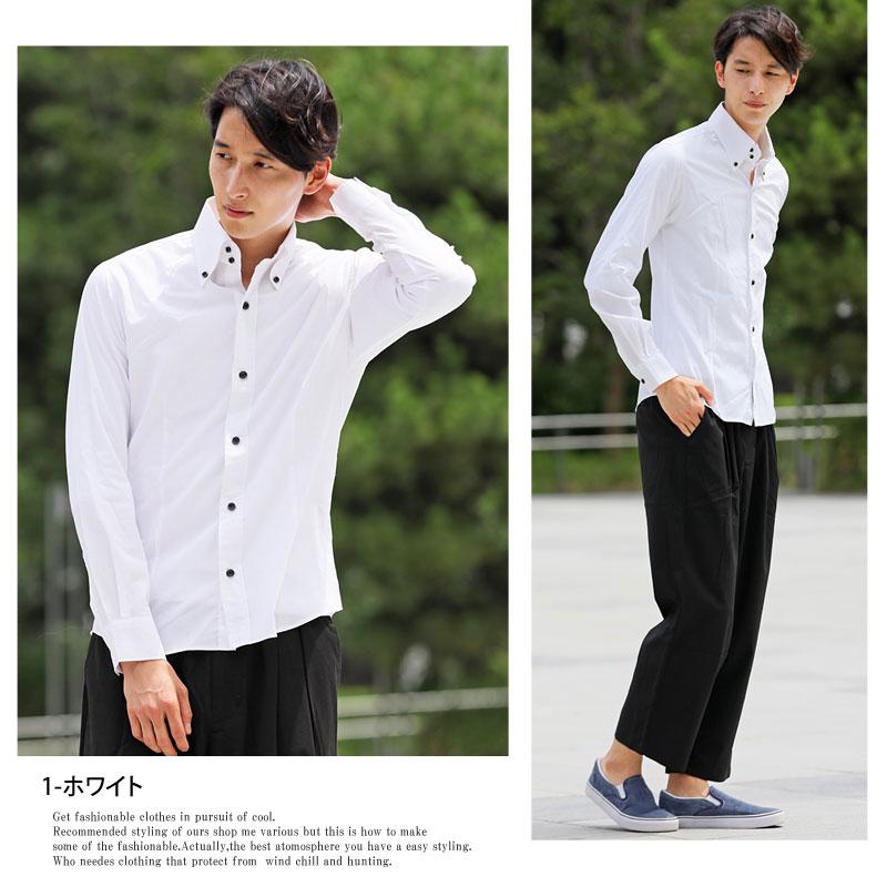 メンズ,メンズファッション,通販,国産,日本製,ブロード素材,ボタンダウンシャツ,無地,ストライプ,ドュエボットー二,長袖,ドレスシャツ,トップス,gwa5932,gwa8629