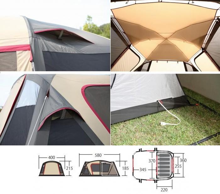 キャンパルジャパン CAMPAL JAPAN テント ティエラワイド II 2778
