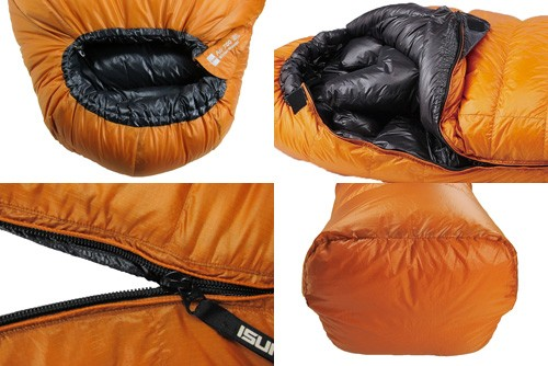 イスカ ISUKA 寝袋 ダウンシュラフ エア 300SL グリーン 149102