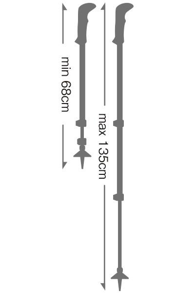 レキ LEKI シェルパライト XTG イエロー 1300386-330