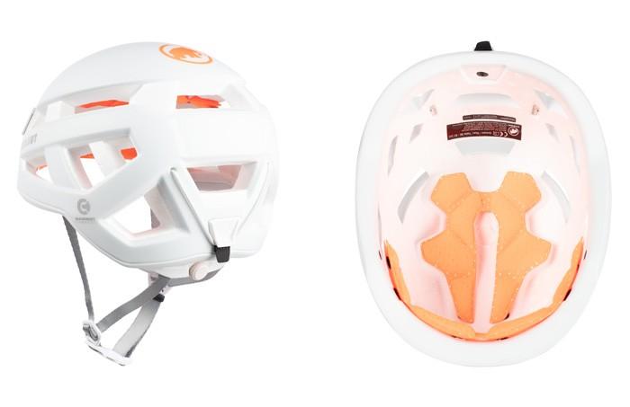 マムート Crag Sender Helmet ホワイト 56-61cm 2030-00260-0243