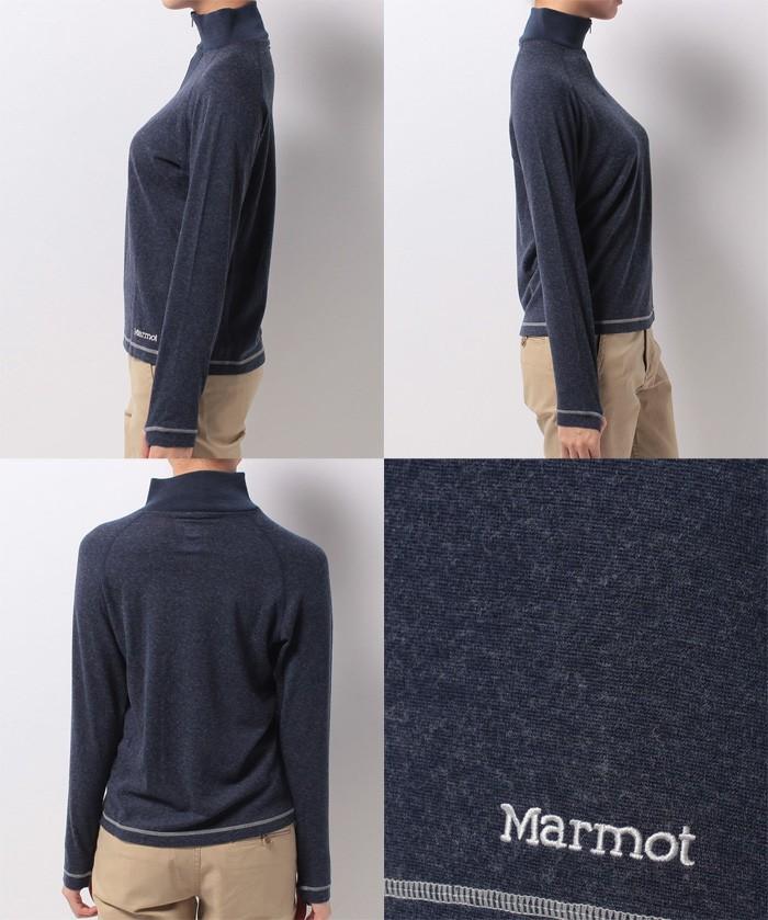 マーモット Marmot ウィメンズクライムウールネックジップ ダークインディゴ Mサイズ MJK-F7537W