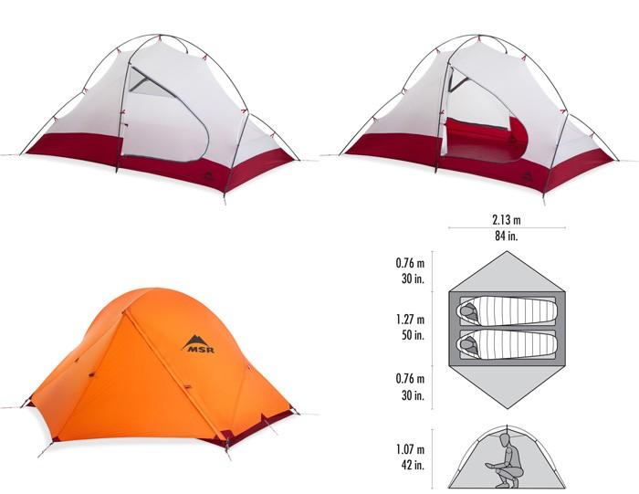 MSR テント アクセス 2 37036