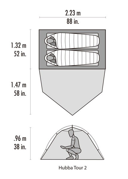 MSR ハバツアー2 ヨーロッパ限定モデル 37550