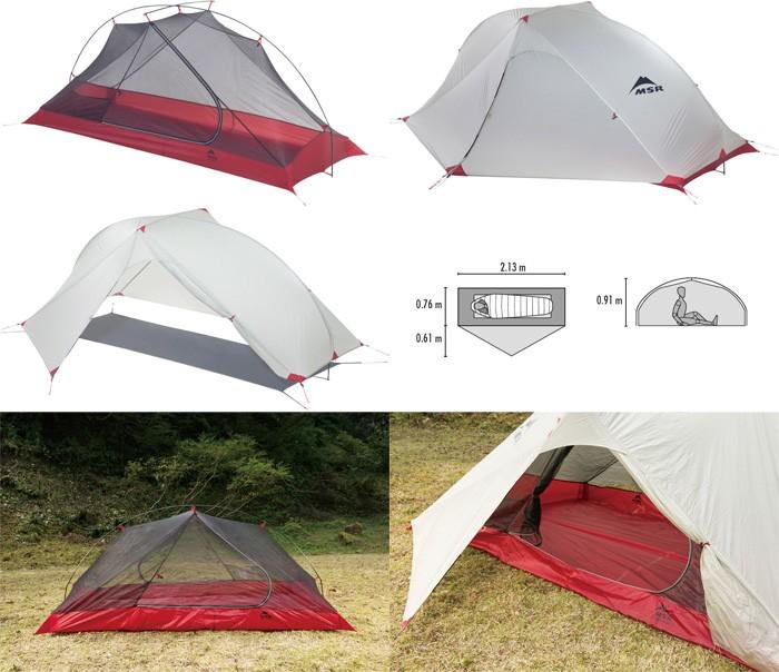 MSR テント カーボンリフレックス1 37836