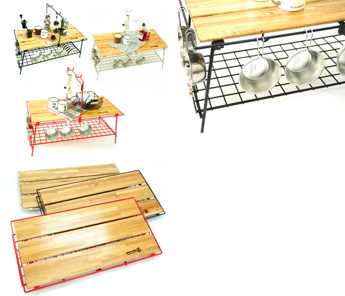 ネイチャートーンズ テーブル The Folding Cafe table