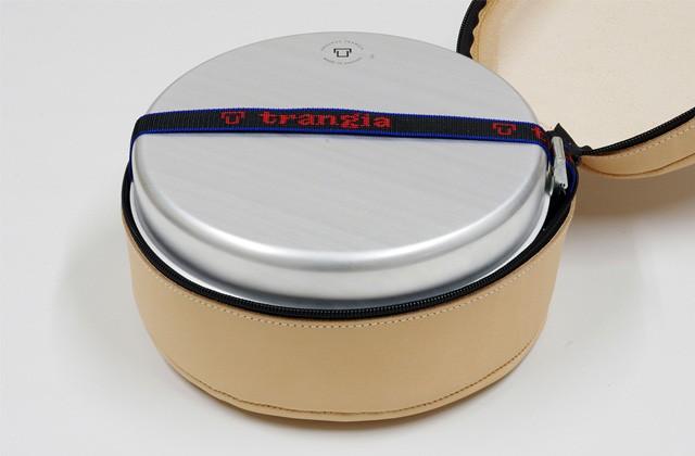 トランギア trangia ストームクッカー S用レザーケース TR-620027