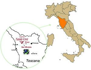ナターレジーニ所在地地図