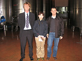 キアルリの営業部長さん、社長の息子さんと