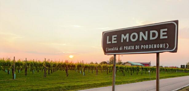 レ モンデの畑