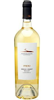 ピポリ ビアンコ グレーコ フィアーノ ヴィニエティ デル ヴルトゥーレのボトル全体