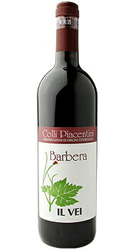 コッリ ピアチェンティーニ バルベーラ イル ヴェイのボトル全体