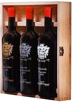 ダル フォルノ ロマーノ 30周年記念 アニバーサルボックス (1500ml×3) ダル フォルノ ロマーノのボトル全体