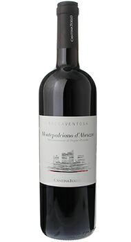 ロッカヴェントーザ モンテプルチアーノ ダブルッツォ カンティーナ トッロのボトル全体