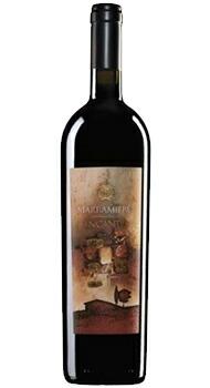 インカント モンテプルチアーノ ダブルッツォ マラミエーロのボトル全体