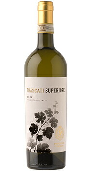 フラスカーティ スペリオーレ セッコ ポッジョ レ ヴォルピのボトル全体