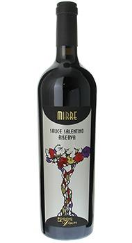 ミッレ サリーチェ サレンティーノ リゼルヴァ ポッジョ レ ヴォルピのボトル全体