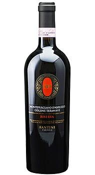 オピ モンテプルチアーノ ダブルッツォ コッリーネ テラマーネ リゼルヴァ ファルネーゼのボトル全体