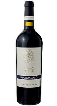 タロ ネグロアマーロ サン マルツァーノのボトル全体