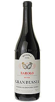 バローロ リゼルヴァ グランブッシア アルド コンテルノのボトル全体
