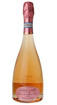 ネッビオーロ ダルバ スプマンテ メトド クラシコ ジョゼッタ サッフィーリオのボトル全体