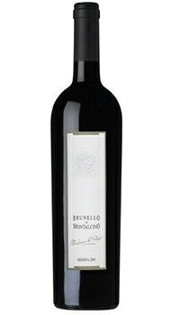 ブルネッロ ディ モンタルチーノ リゼルヴァ マドンナ デル ピアーノ ヴァルディカヴァのボトル全体