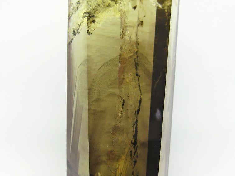 シトリンクォーツ 黄水晶  六角柱