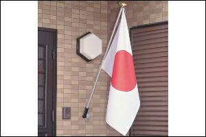国旗掲揚イメージ
