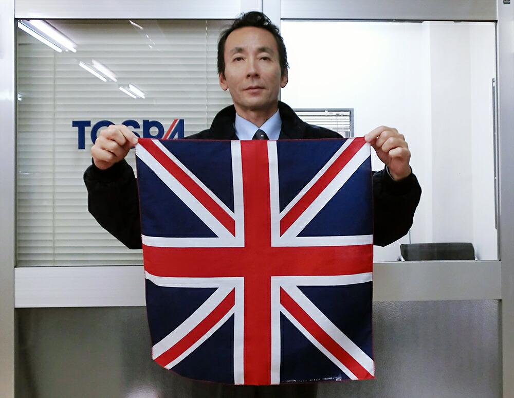 国旗柄バンダナ