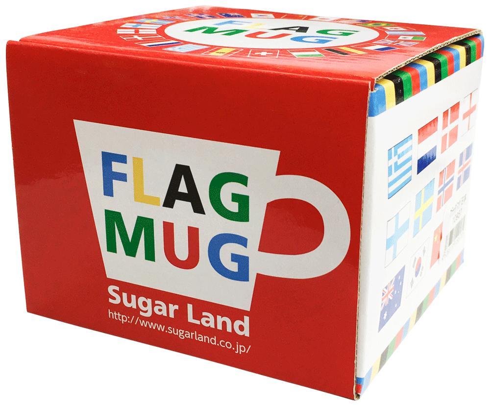 世界の国旗マグカップ箱入り