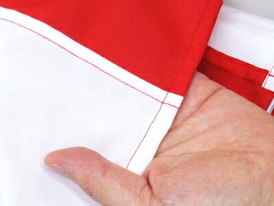 紅白幕は自社工場