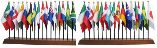 サッカーワールドカップ出場国 国旗セット