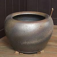 10号金彩色火鉢