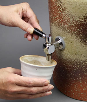 焼酎サーバー 陶器サーバー 信楽焼き焼酎サーバー