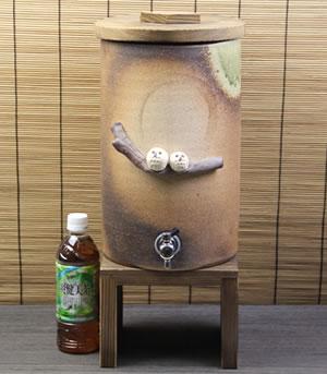 信楽焼き焼酎サーバー やきものサーバー 陶器焼酎サーバー ふくろう焼酎サーバー