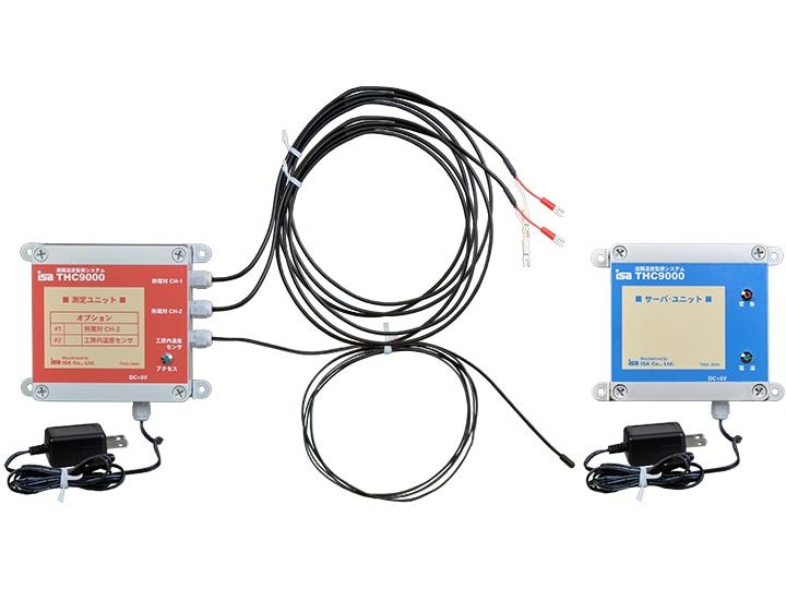 遠隔温度監視システム 窯おんど THC9000-4R 商品内容