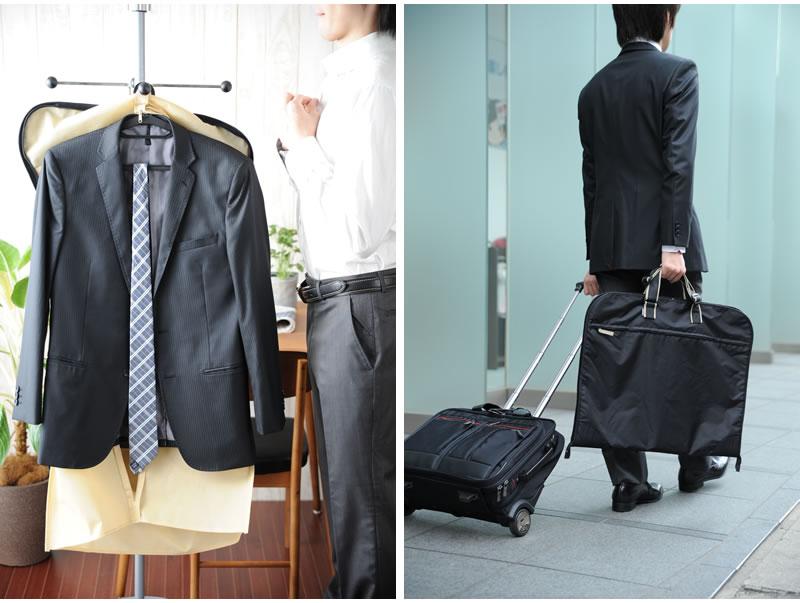 Garment Bag Men S Case Fold A 3 Nylon Onofre Trip Suit Storage Wedding Ceremonies