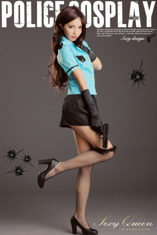 Sexyqueen Police Cosplay Costumes Sexy Uniform Costumes Miniskirt Police Police -5389