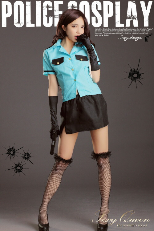 Sexyqueen Police Cosplay Costumes Sexy Uniform Costumes Miniskirt Police Police -8241