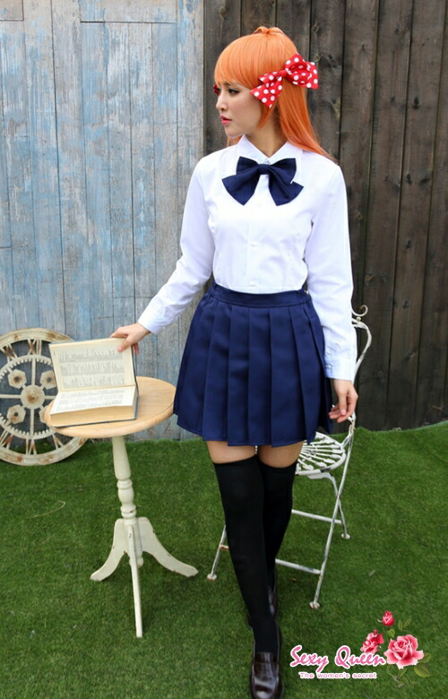 Osharevo Cosplay Sailor Outfit School Uniform School Girl Puffy Nipples Straining -3523