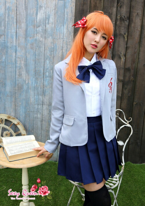 Osharevo Cosplay Sailor Outfit School Uniform School Girl Puffy Nipples Straining -6191