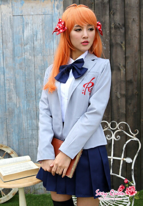 Osharevo Cosplay Sailor Outfit School Uniform School Girl Puffy Nipples Straining -2899