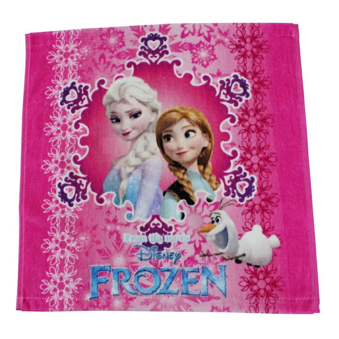 ディズニー タオル ハンドタオル  アナと雪の女王